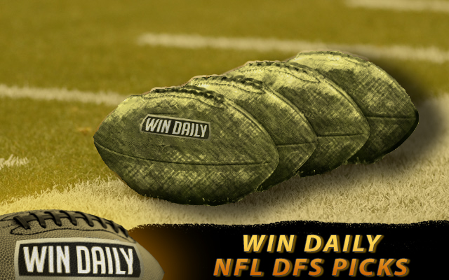 WEEK 9 NFL DFS PICKS