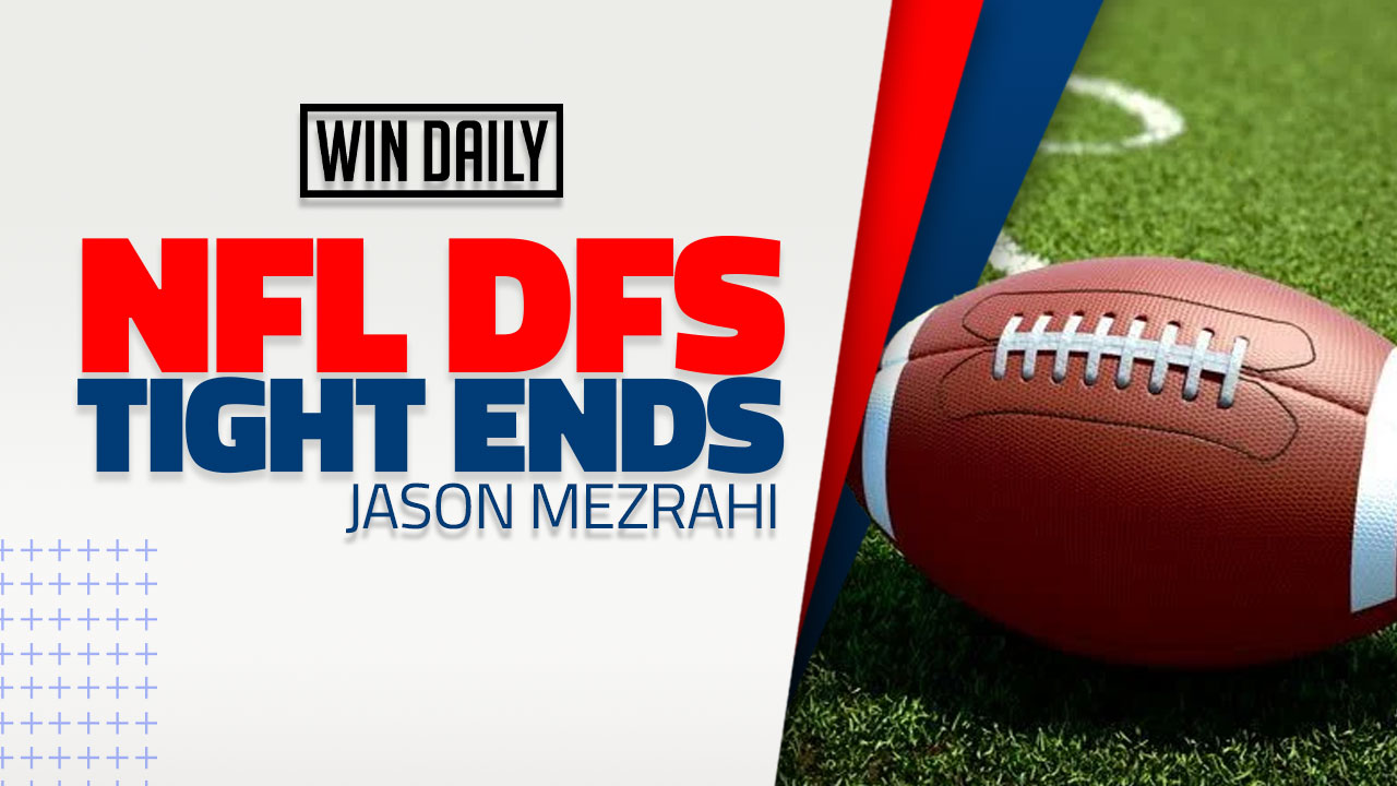 DFS Tight Ends